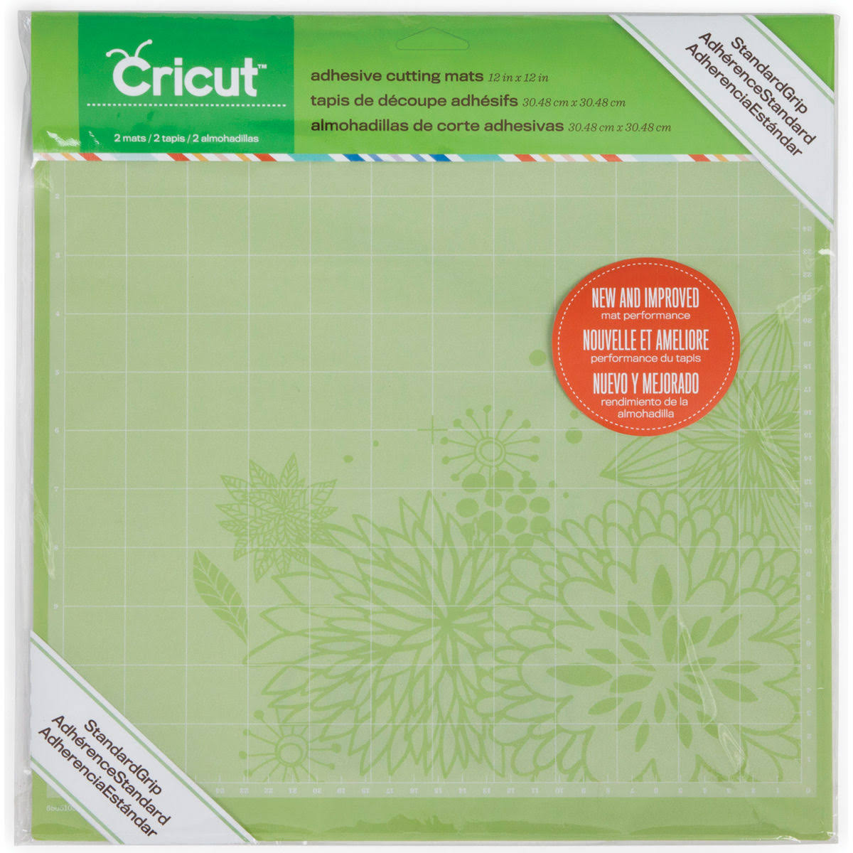 Cricut StandardGrip Cutting Mat 12 x 12 Inches