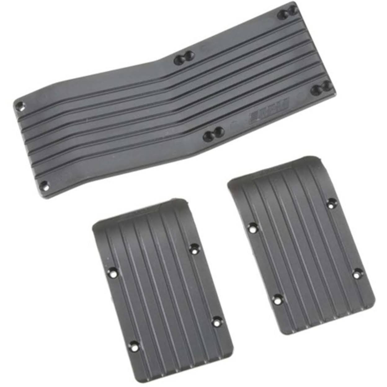Rpm 80772 Skid Plate Set - Black, x3