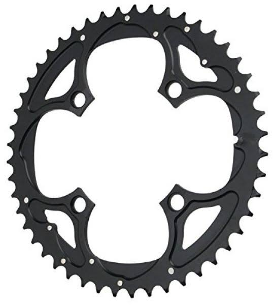 Truvativ 104BCD Trushift Alloy 9 Speed Chainring - Black, 42T