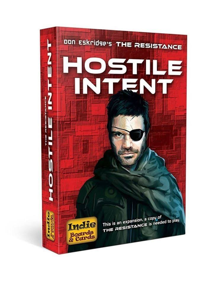 Indie Boards And Cards Resistance Hostile Intent Card Game