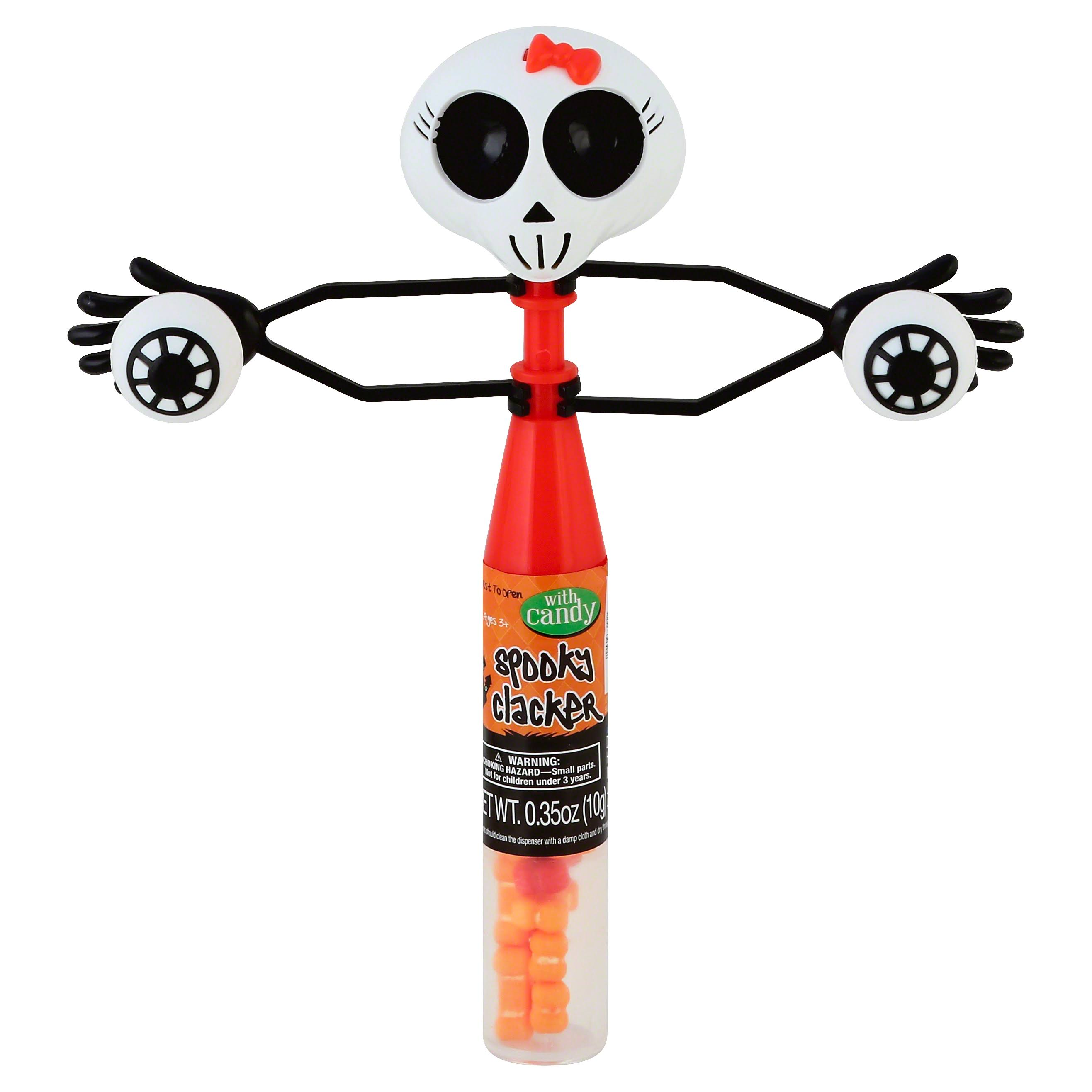 Hilco Spooky Clacker, with Candy - 0.35 oz