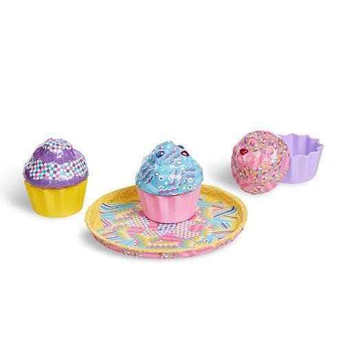 Melissa & Doug - Decoupage Made Easy Deluxe Craft Set - Cupcakes