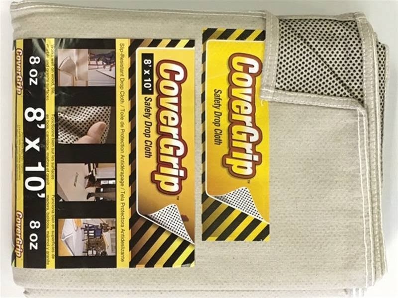Covergrip Safety Drop Cloth - 8'x10'