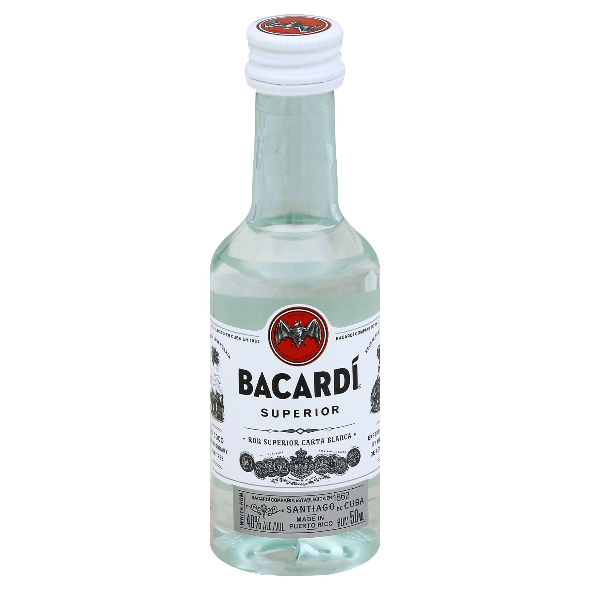 Bacardi Superior Rum - 50ml