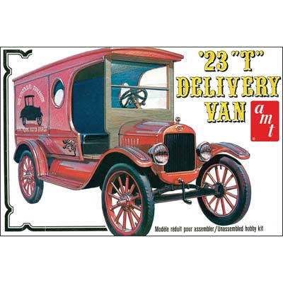 AMT 1923 Ford T Delivery Van Sweet and Special Edition Model Kit - 1:25 Scale