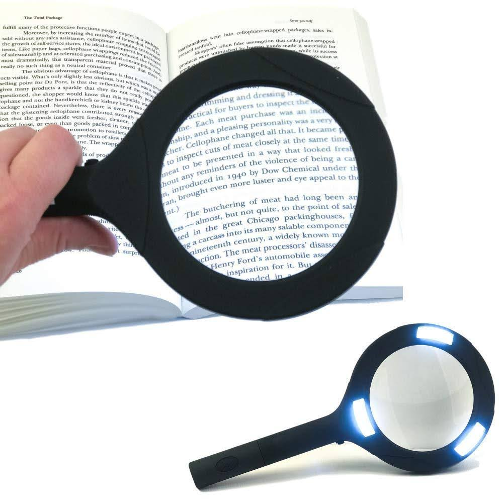 2 Pack Flipo Cyclops Illuminated Magnifying