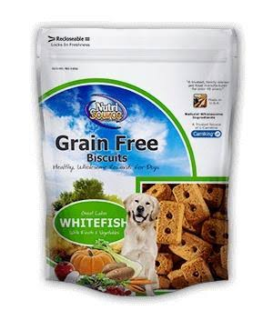 Nutri Source Grain Free Dog Biscuits - Whitefish