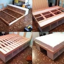 the basic steps involved in the building of diy platform bed diy