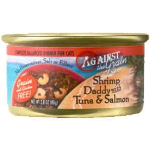 Against The Grain Shrimp Daddy With Tuna & Salmon Cat Food