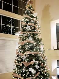 Raz Gold Christmas Trees by 12 Ft Rustic Glam Christmas Tree 1 Spool Burlap Ribbon Rose