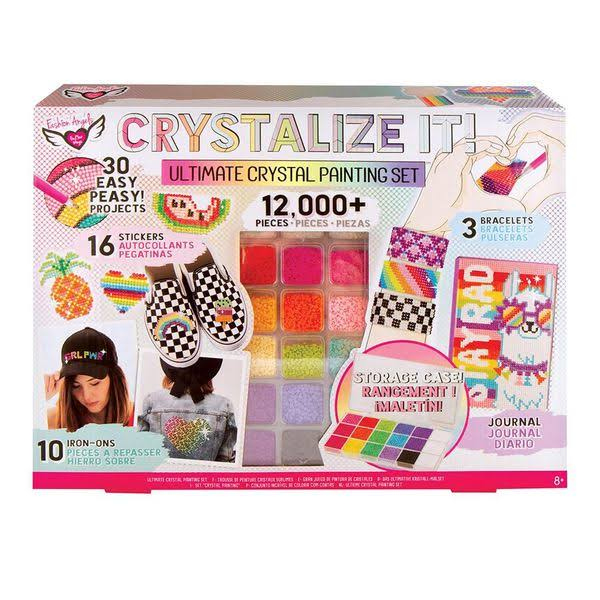 Fashion Angels Crystalize It! Ultimate Crystal Painting Set