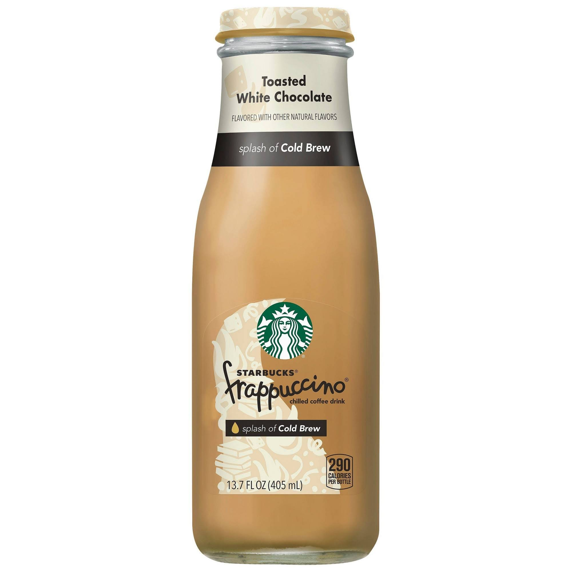 Starbucks Frappuccino Toasted White Chocolate Chilled Coffee Drink - 405ml