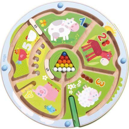 Haba Number Maze Magnetic Game