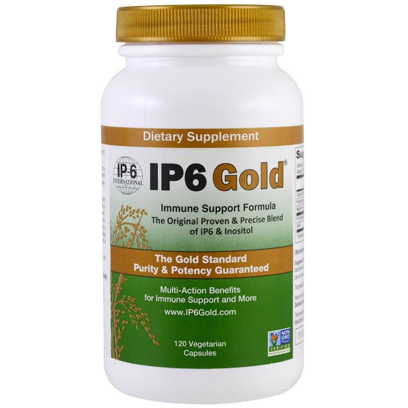 IP-6 Gold Immune Support Formula Dietary Supplement - 120ct