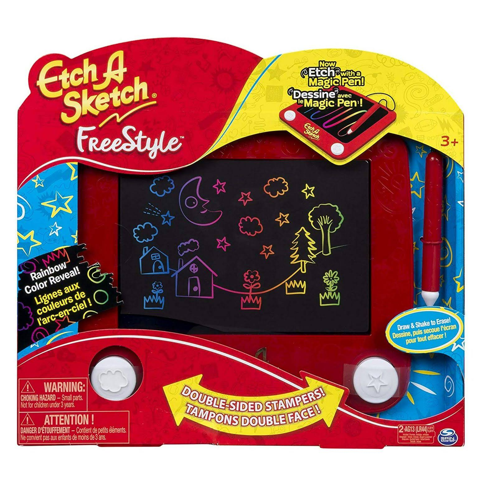 Spin Master Etch A Sketch Freestyle Drawing Pad