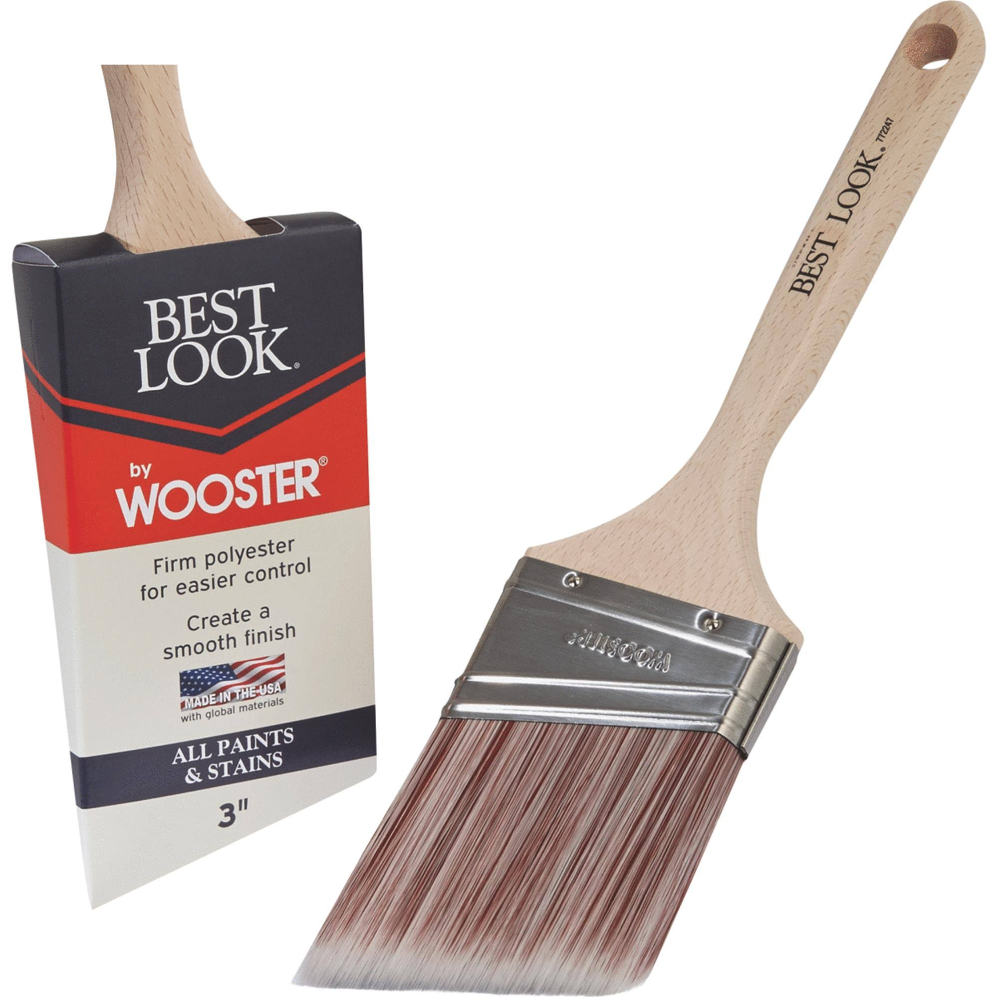 Best Look by Wooster Polyester Paint Brush - D4022-3