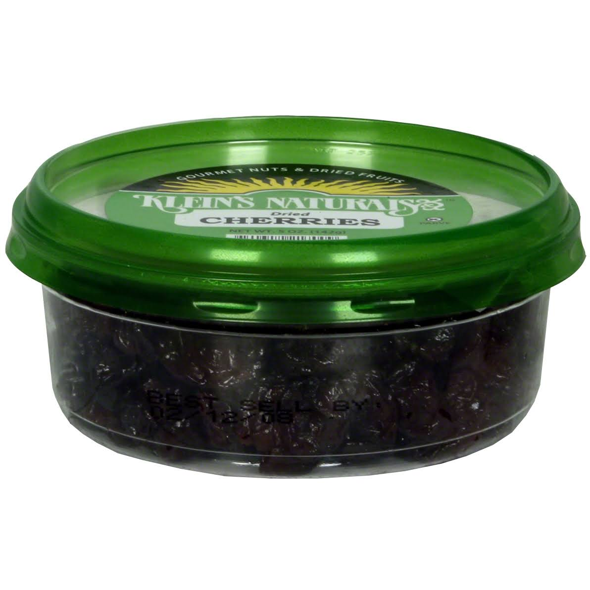 Kleins Naturals Cherries, Dried - 5 oz