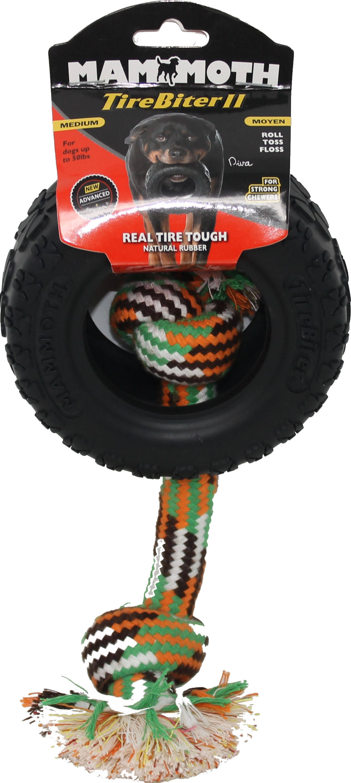 "Mammoth 5"" TireBiter II with Rope"