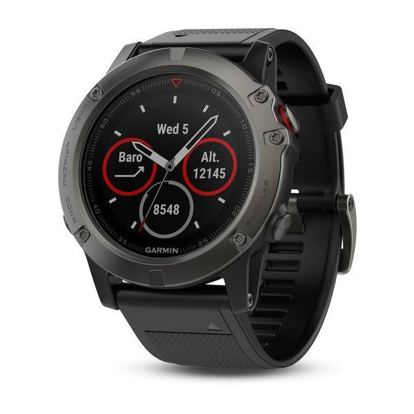 Garmin Fenix 5X Multisport Gps Watch - 51mm, Slate Gray