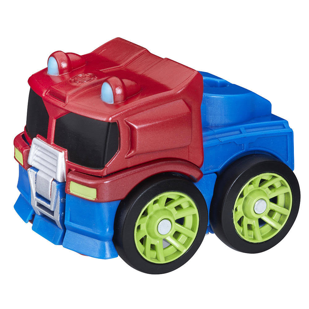 Playskool Flip Racers Optimus Prime Hero Rescue Bots Robot Figure