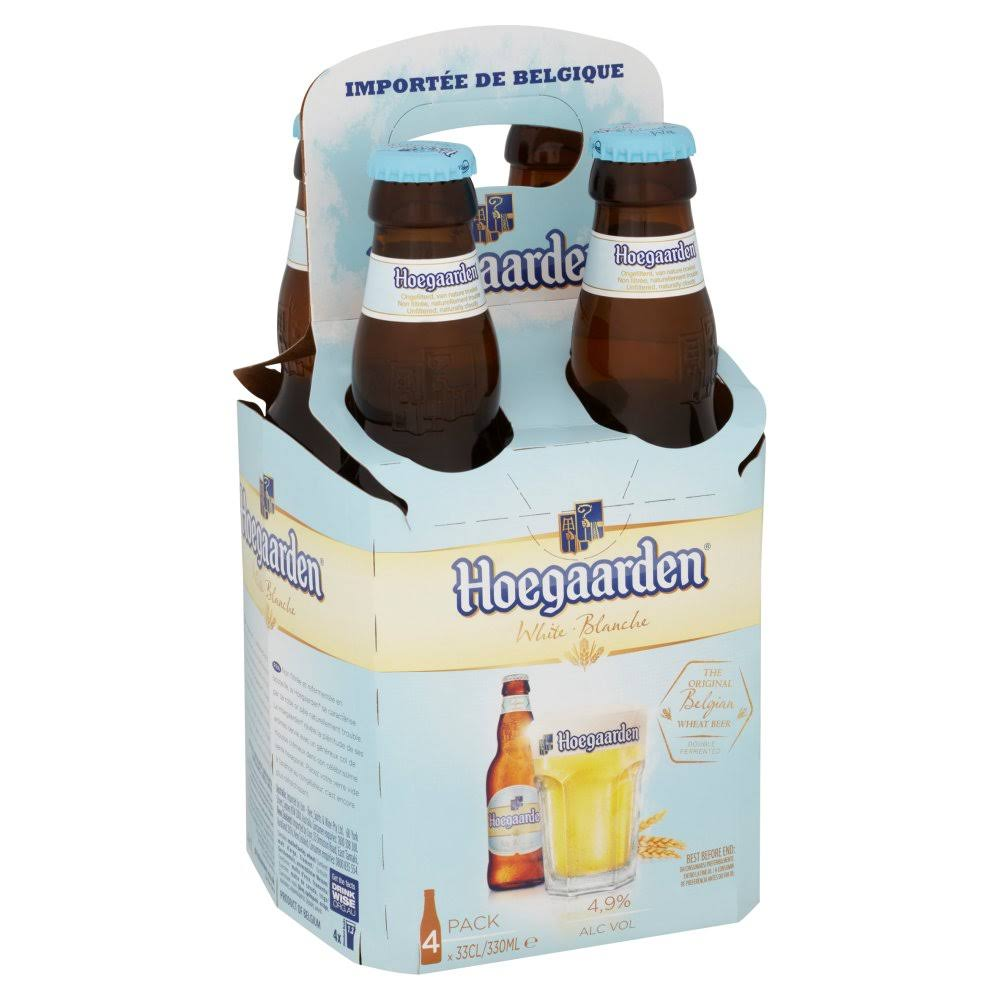 Hoegaarden Wheat Beer - 4 x 330ml