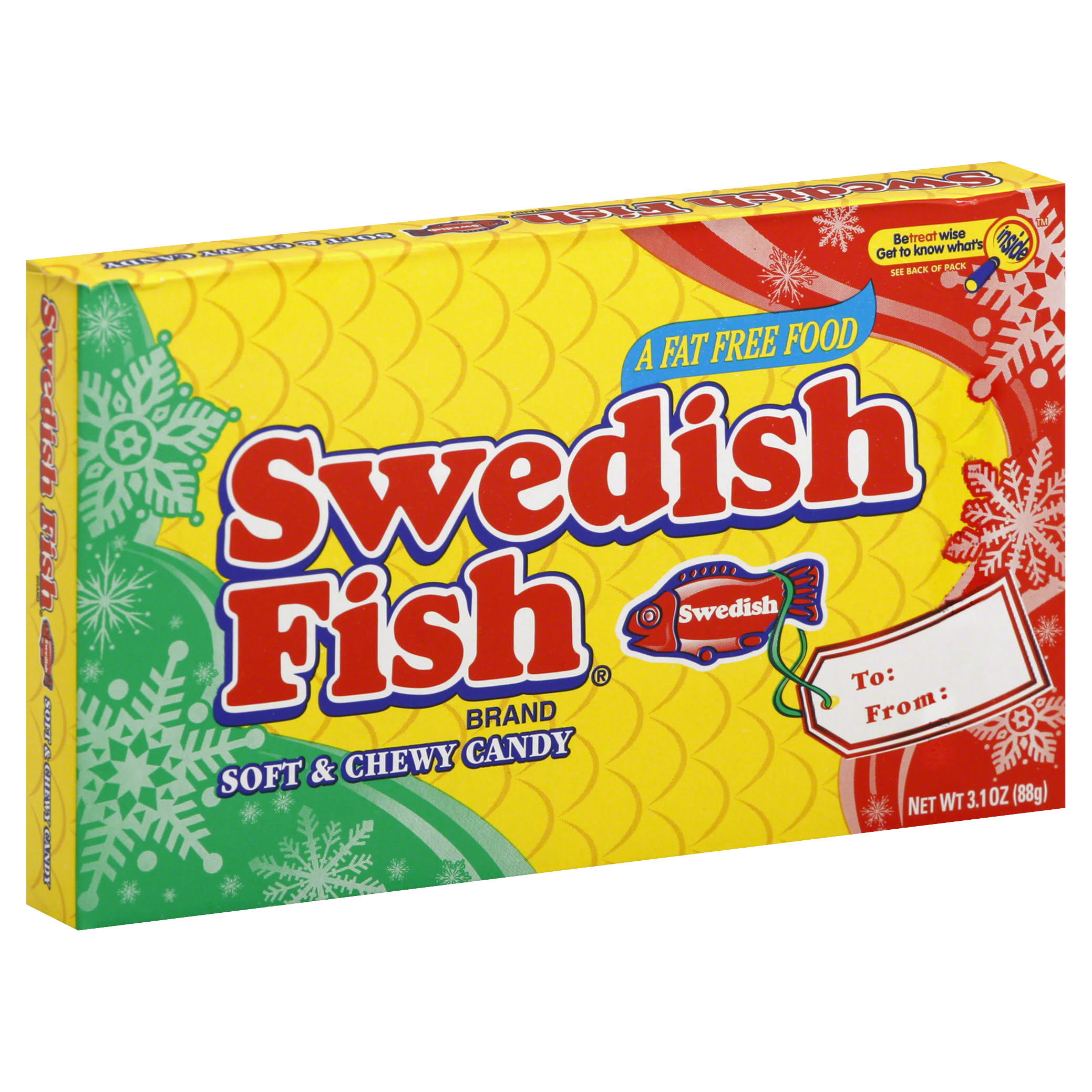 Swedish Fish Soft and Chewy Candy - 3.1oz