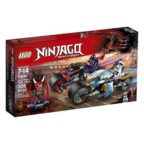 Lego Ninjago Street Race of Snake Jaguar Building Kit
