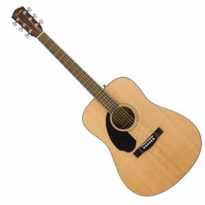 Fender CD-60S Dreadnought Acoustic Left Handed, Natural