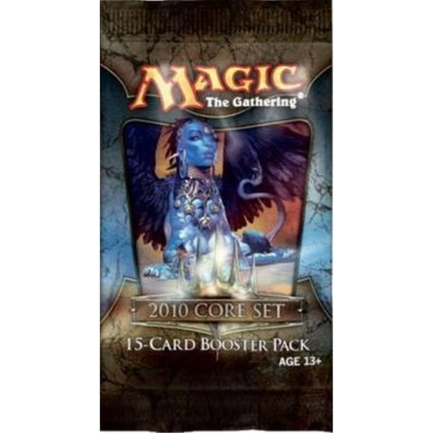Magic The Gathering Card Game 2010 Core Set Booster Pack Toy