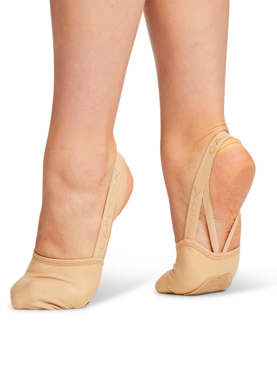 Capezio H064W Women's Hanami Pirouette Shoes - Nude, Large