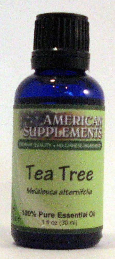 American Supplements Tea Tree Essential Oil - 1 oz Oil