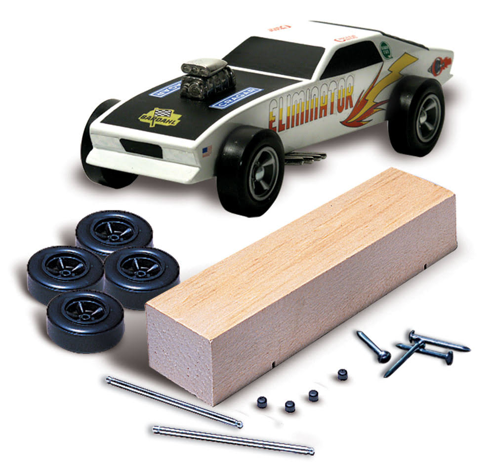 Pine Car P370 Basic Car Kit
