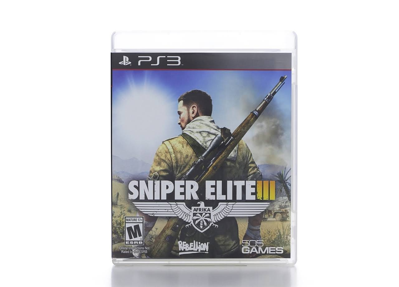 Sniper Elite III Afrika - PlayStation 3