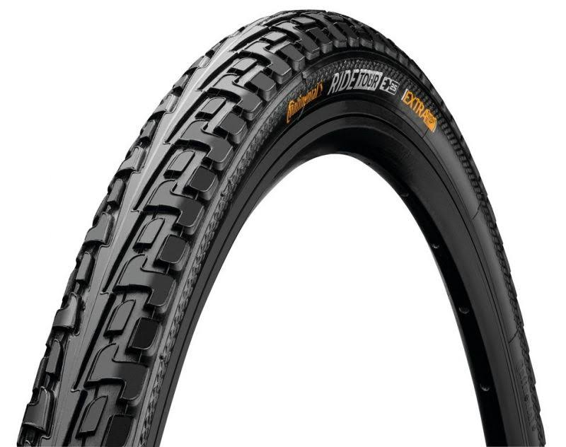 Continental Tour Ride Cross Hybrid Bicycle Tire - Wire Bead, 700 x 28c