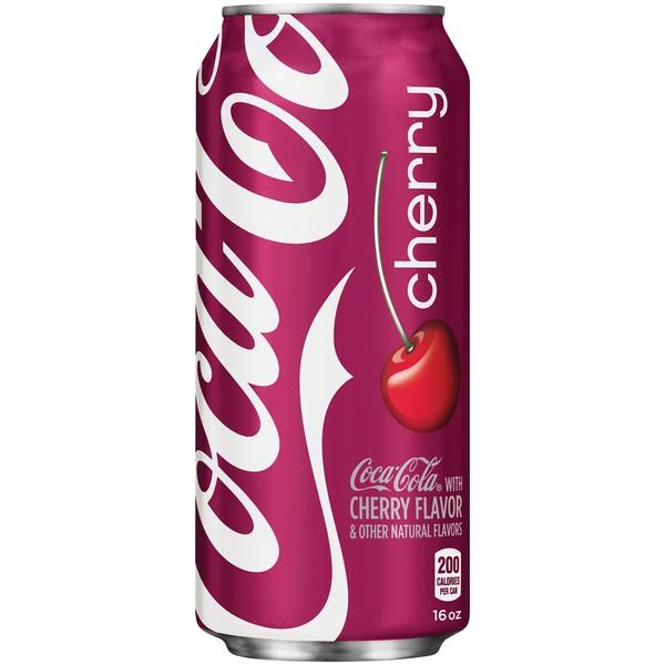 Coca-Cola Cherry Coke - 16oz
