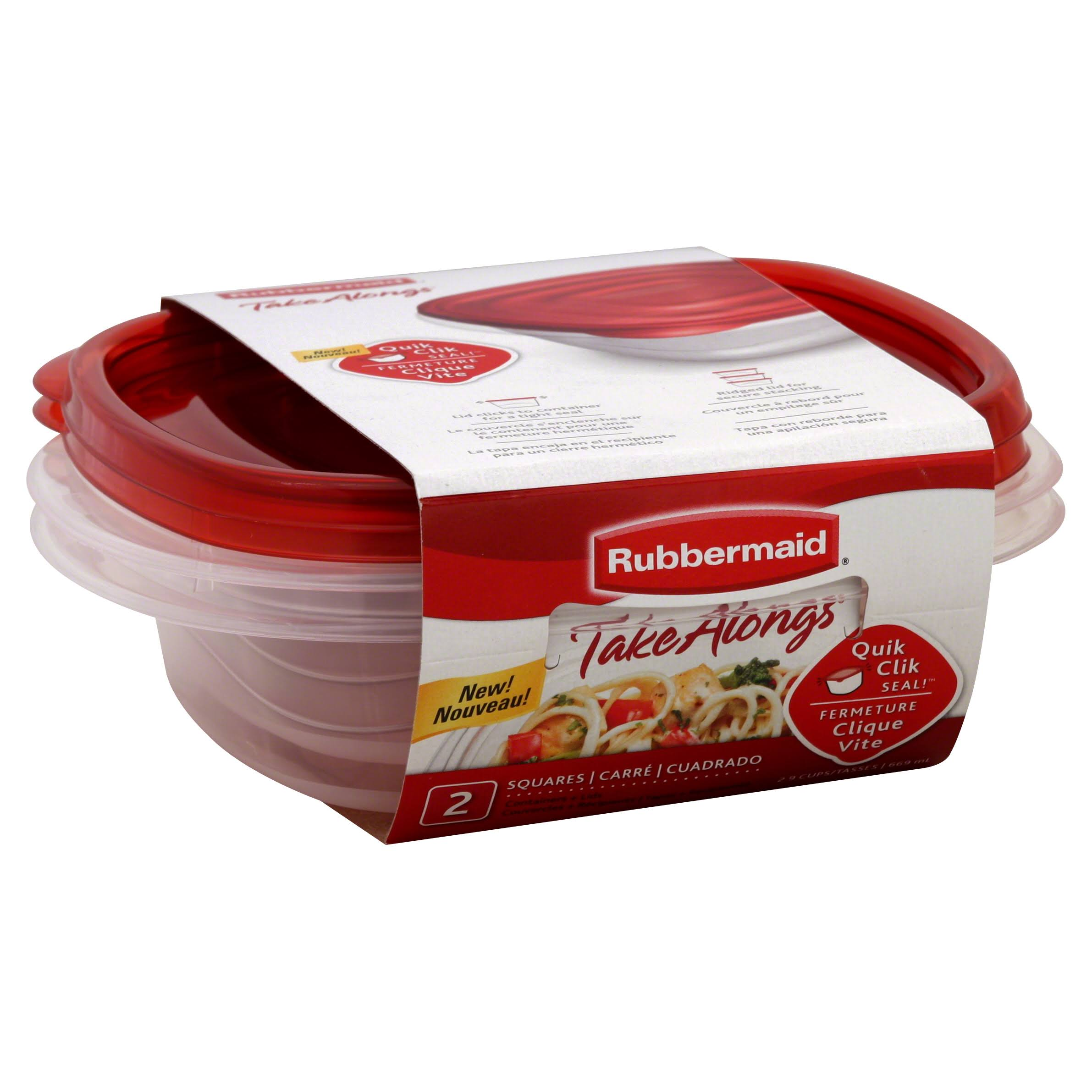 Rubbermaid Takeaongs Food Storage Container