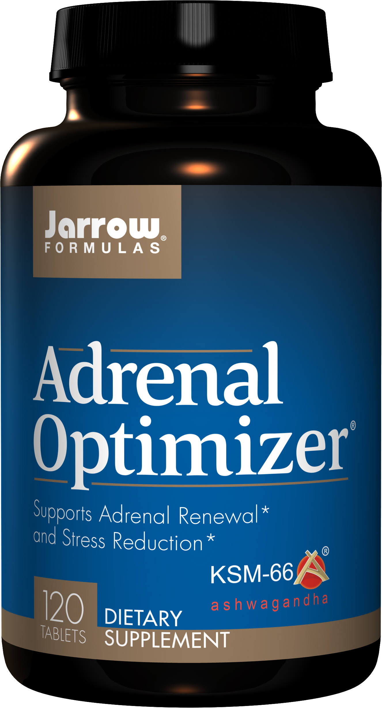 Jarrow Formulas Adrenal Optimizer Dietary Supplement - 120 Tablets