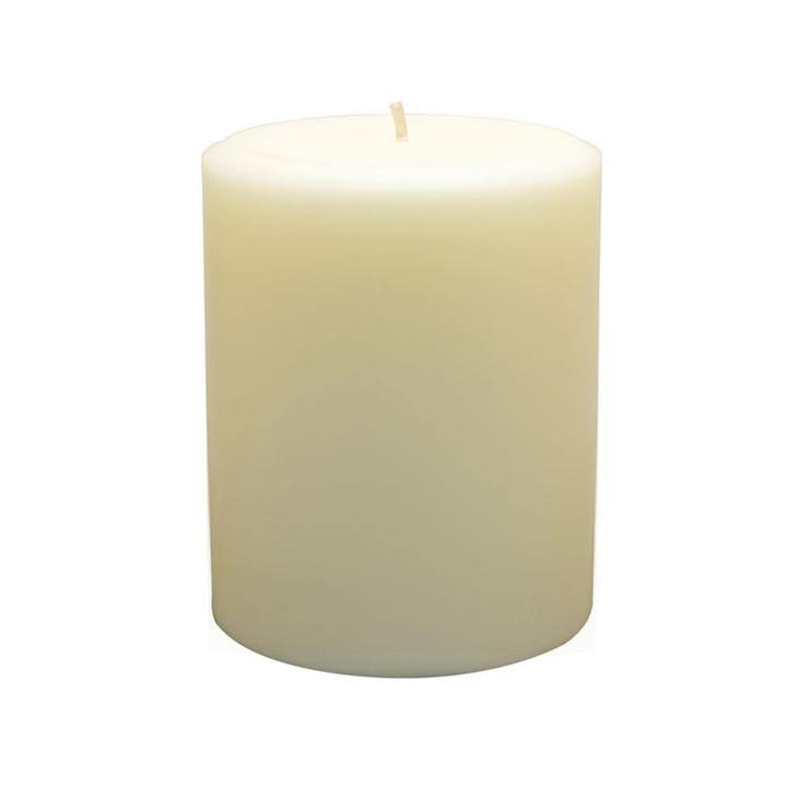 Northern Lights Pillar Candle - Ivory