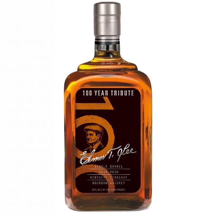 Elmer T. Lee Single 100 Year Tribute Barrel Kentucky Straight Bourbon 750ml