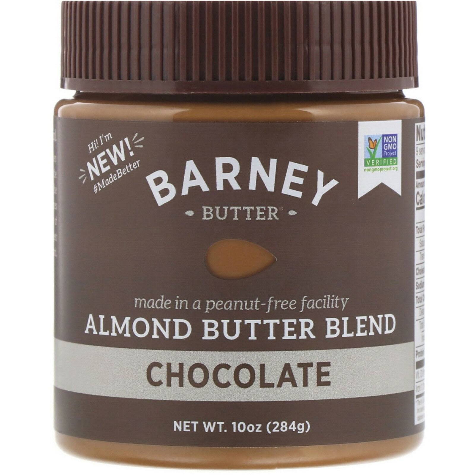 Barney Butter Almond Butter Blend - Chocolate, 10oz