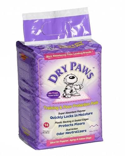 Dry Paws Training & Floor Protection Pads - 7 Pack