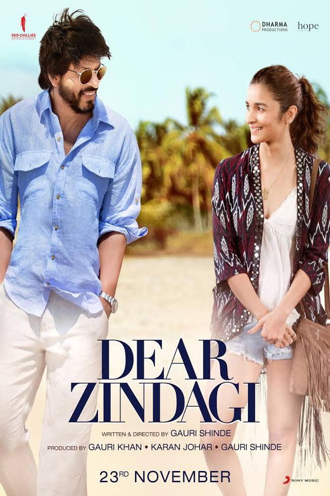 Dear Zindagi Hindi Movie Download 2016 720p BluRay