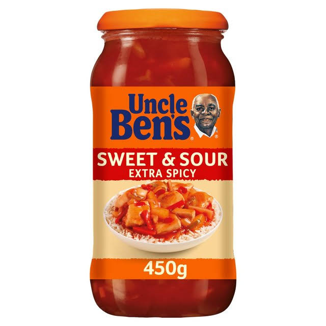 Uncle Ben's Sweet & Sour Sauce - Extra Spicy, 450g