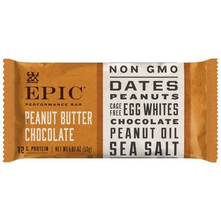 Epic Performance Bar, Peanut Butter Chocolate - 1.87 oz
