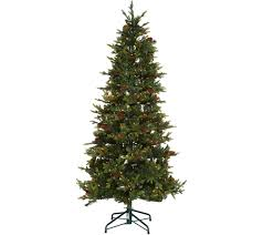 Vickerman Flocked Slim Christmas Tree by 6 Ft To 6 1 2 Ft U2014 Christmas Trees U2014 Christmas U2014 Holiday U2014 For The
