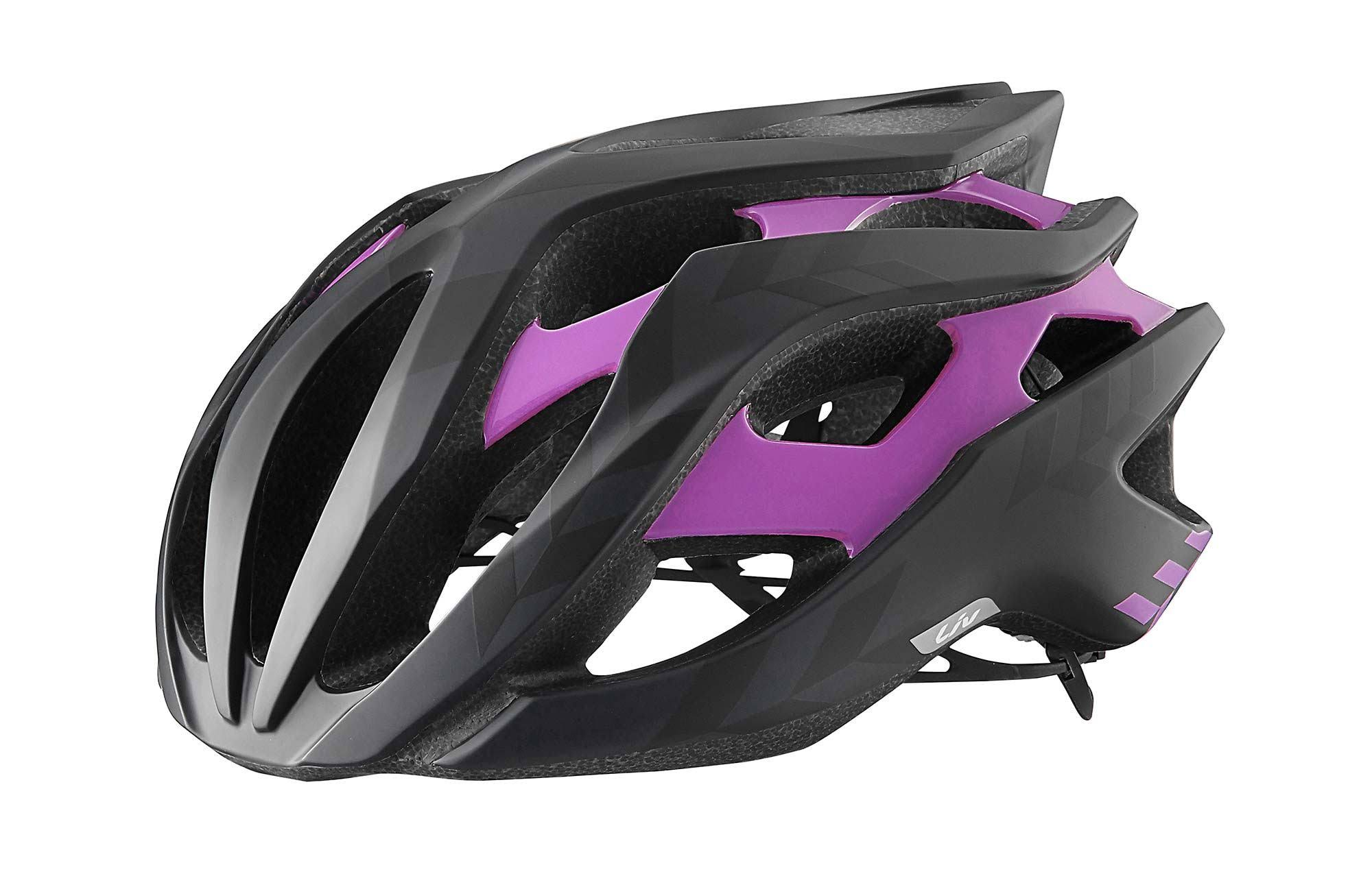 Liv Rev Cycle Helmet - Black/Purple, Large