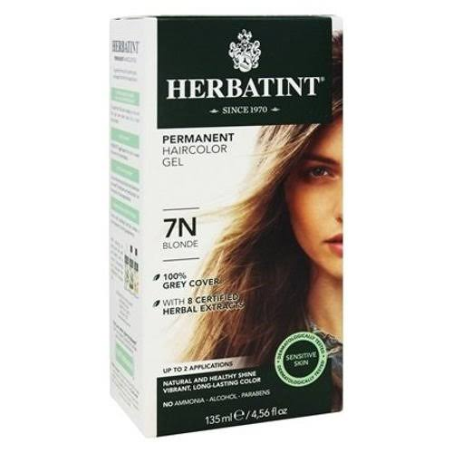 Herbatint Permanent Herbal Haircolour Gel - 7N Blonde