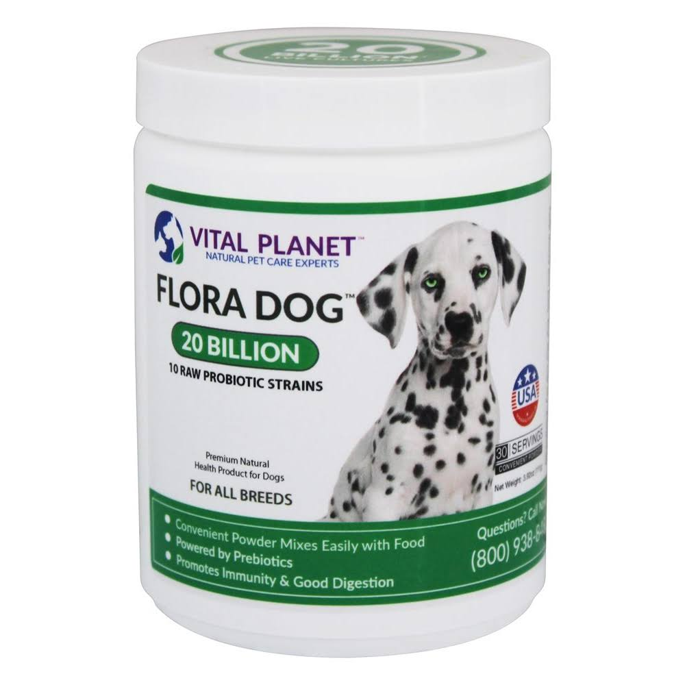 Vital Planet Flora Dog Daily Probiotic - 30 Servings