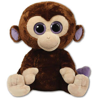 Ty Beanie Boo's Plush - Coconut the Monkey