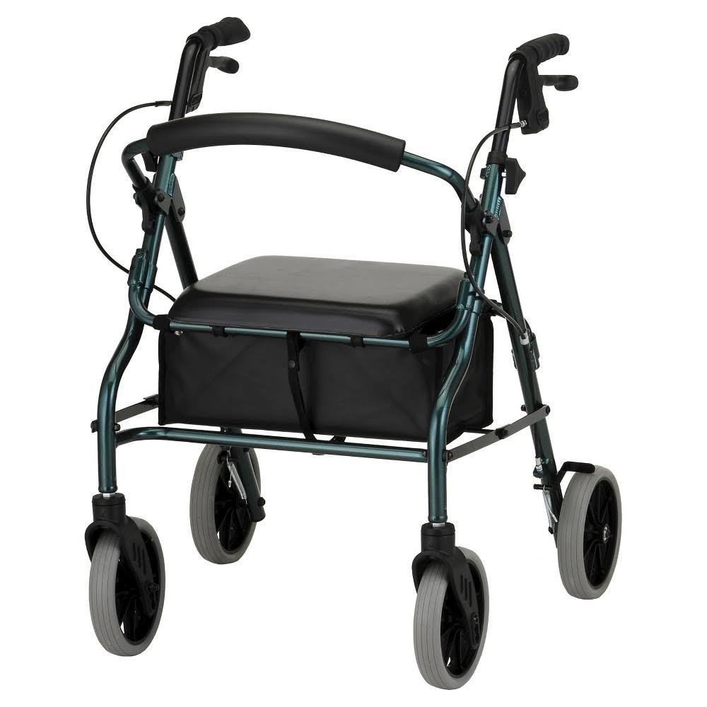 "Nova Medical Products 20"" Zoom Rolling Walker Green"